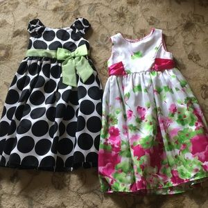 Two Easter Dresses by Cherokee